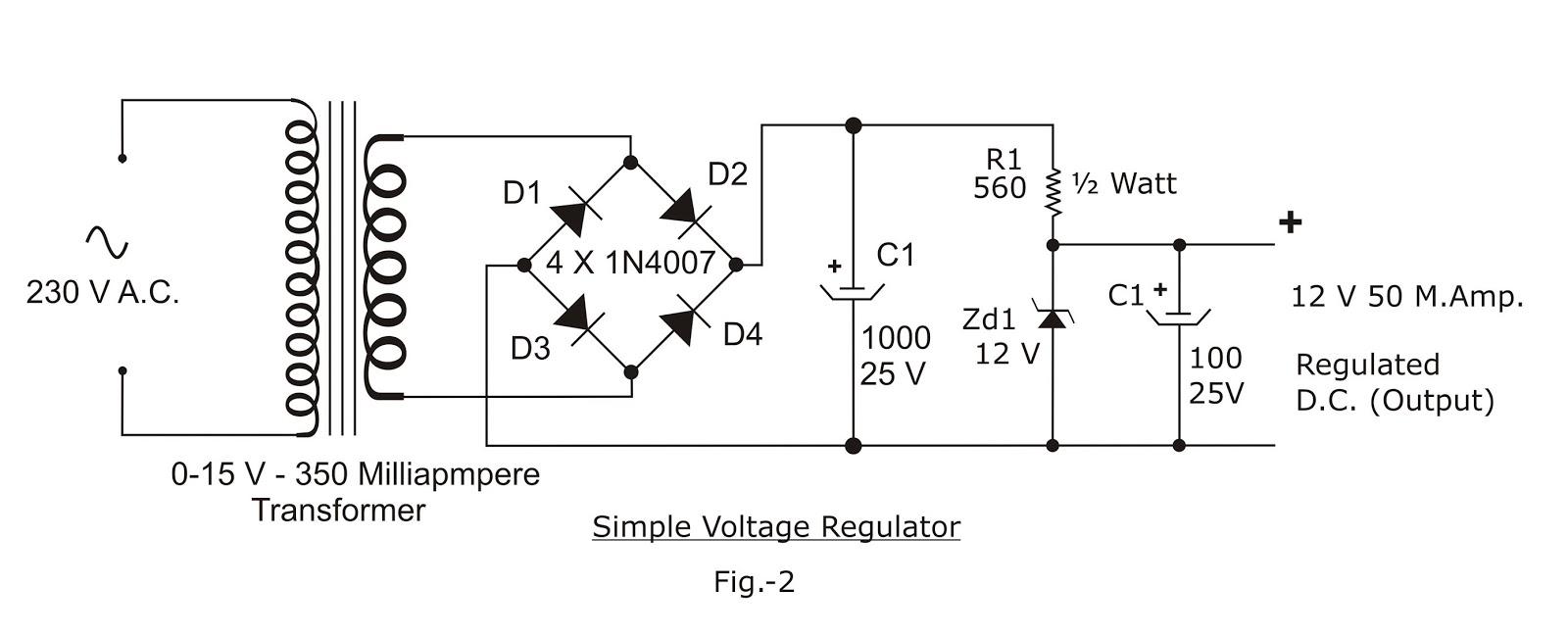Electronic Circuits 15 Watt Amplifier Circuit Diagram