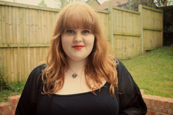 plus size fashion blog, chanel lipstick
