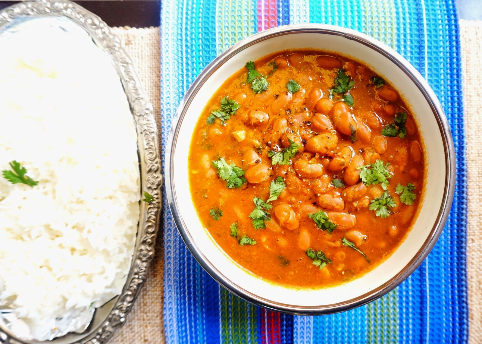 Scrumptious indian recipes rajma chawal kidney beans with rice rajma chawalkidney beansrajmacurryindian forumfinder Gallery