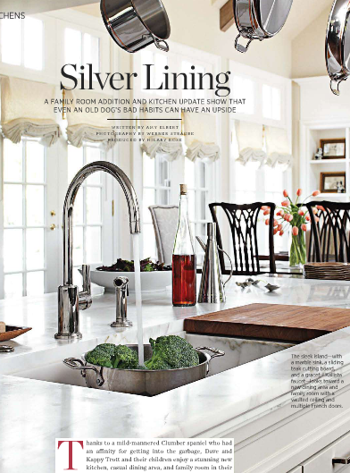 For Me A Great Kitchen Is The Epitome Of Luxury And Necessity Designer Mick De Giulio Created This Birmingham Michigan Family