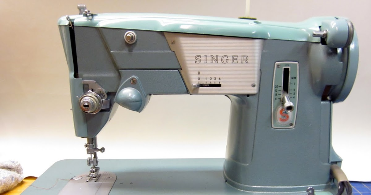 MI Vintage Sewing Machines: Singer 327 K (1964)
