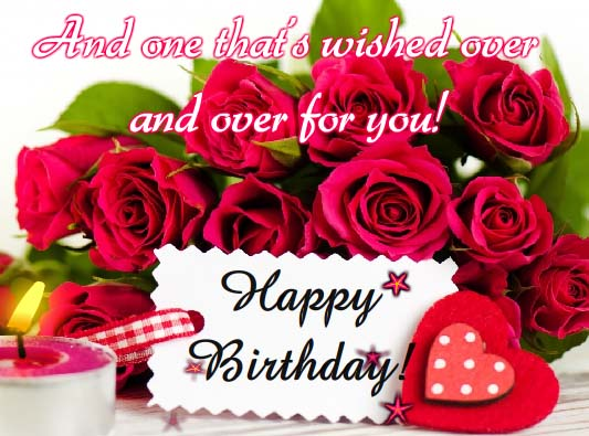 Sweet Romantic Birthday Text Messages in English Hindi for – Free Text Message Birthday Cards