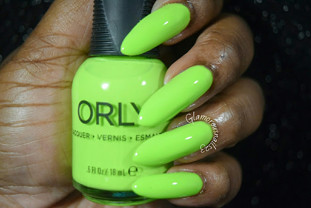 "Orly Adrenaline Rush ""Thrill Seeker"" Swatch"