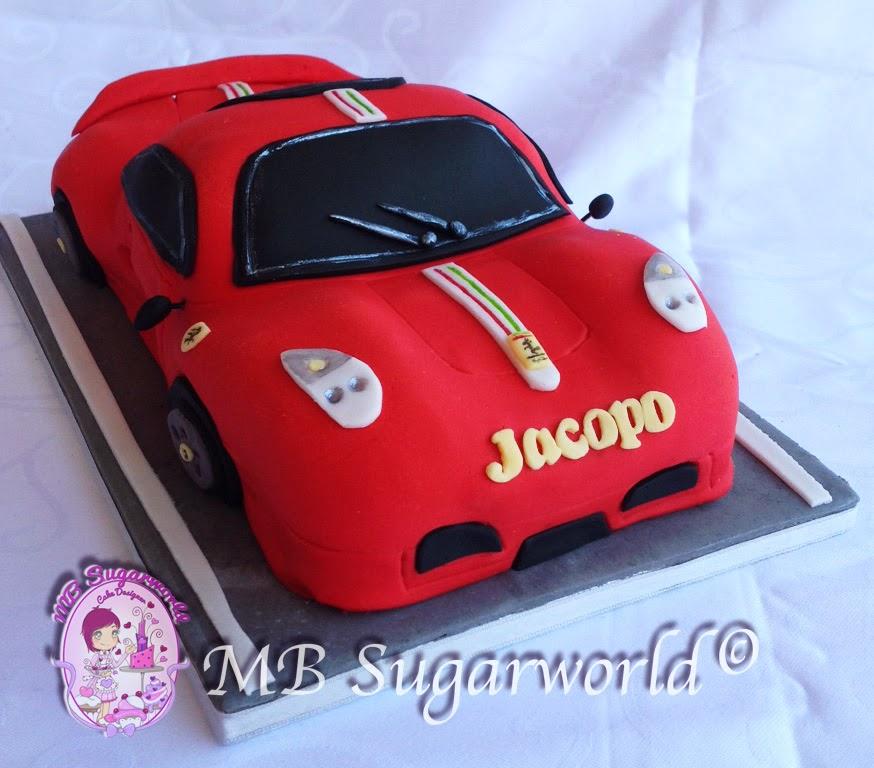 torta macchina 3d