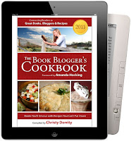 The Book Blogger's Cookbook cover