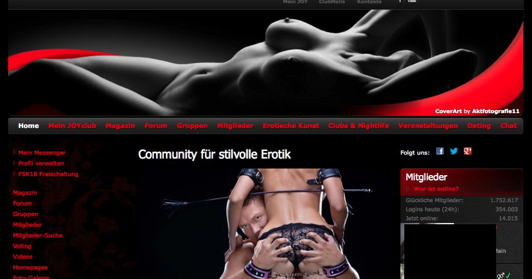 kontakt erotik joyclub mobile