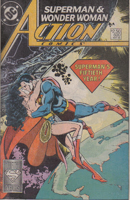 This seems tailor-made for a valentine's card. 'Our love is super!' No, that's terrible, don't use that...