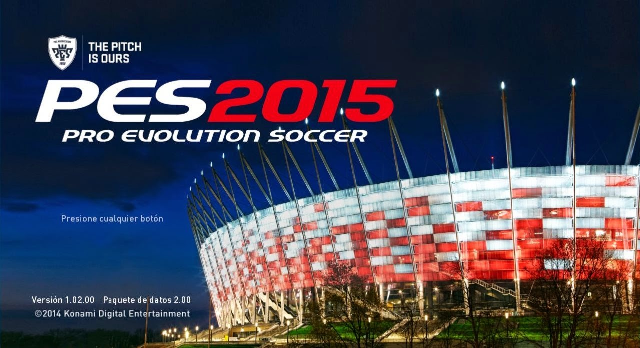 PES 2015 PC Download + Tutorial Data Pack 2.00 + Patch Official Update 1.02