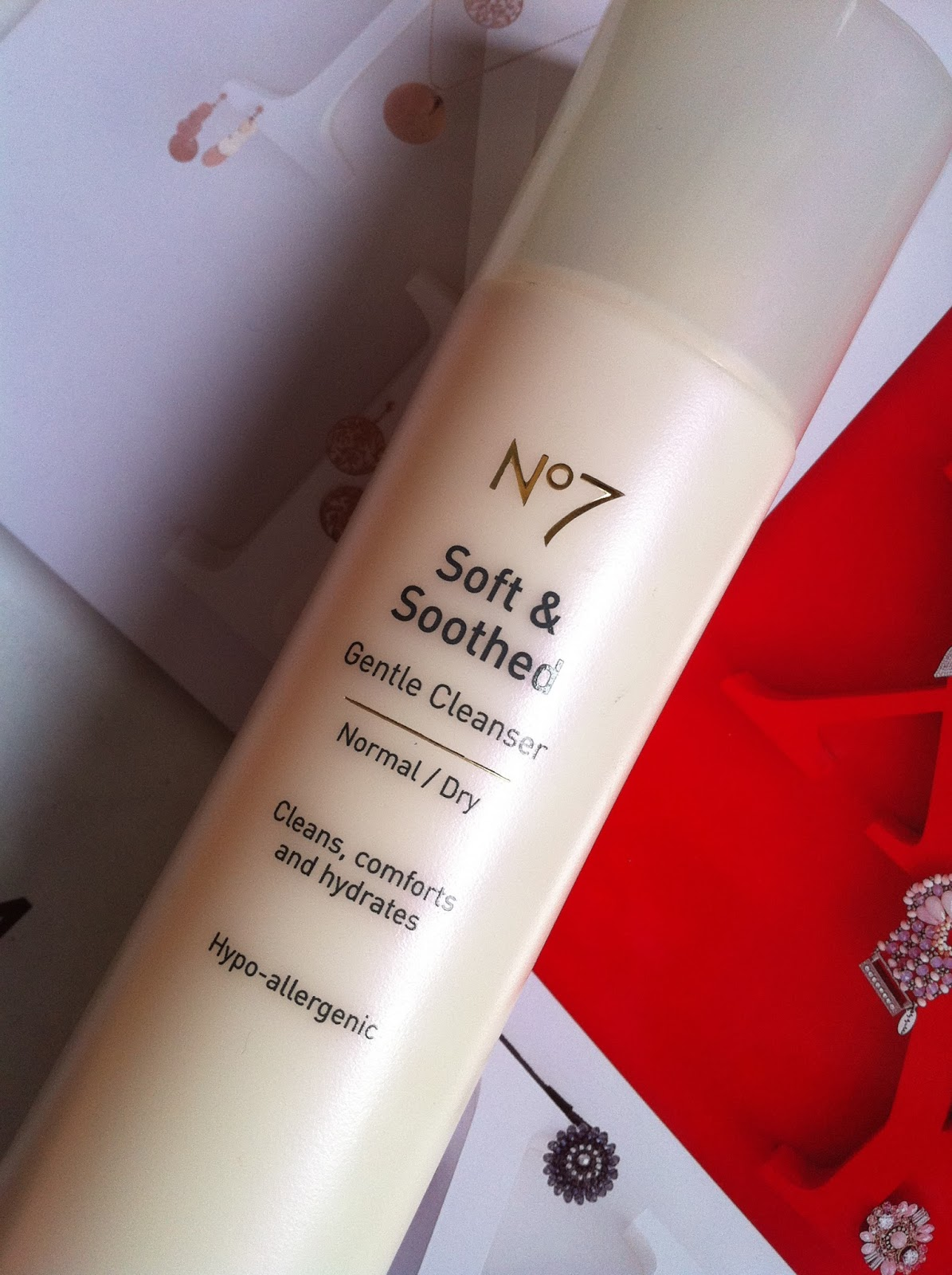 No7 Soft & Soothed Gentle Cleanser