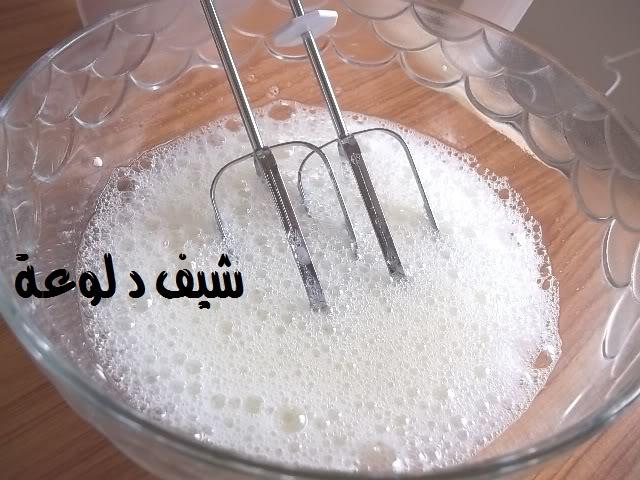5 الكيكه الاسفنجيه للشيف دلوعه