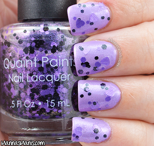Quaint Paints Lacquer Heart of the Matter swatch