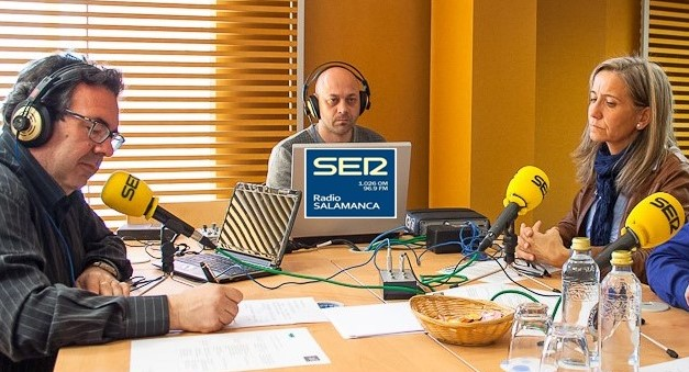 GORKA ZUMETA EN RADIO SALAMANCA (SER)