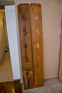 Reclaimed Wood Chicago Gallery: Children's Measuring Stick