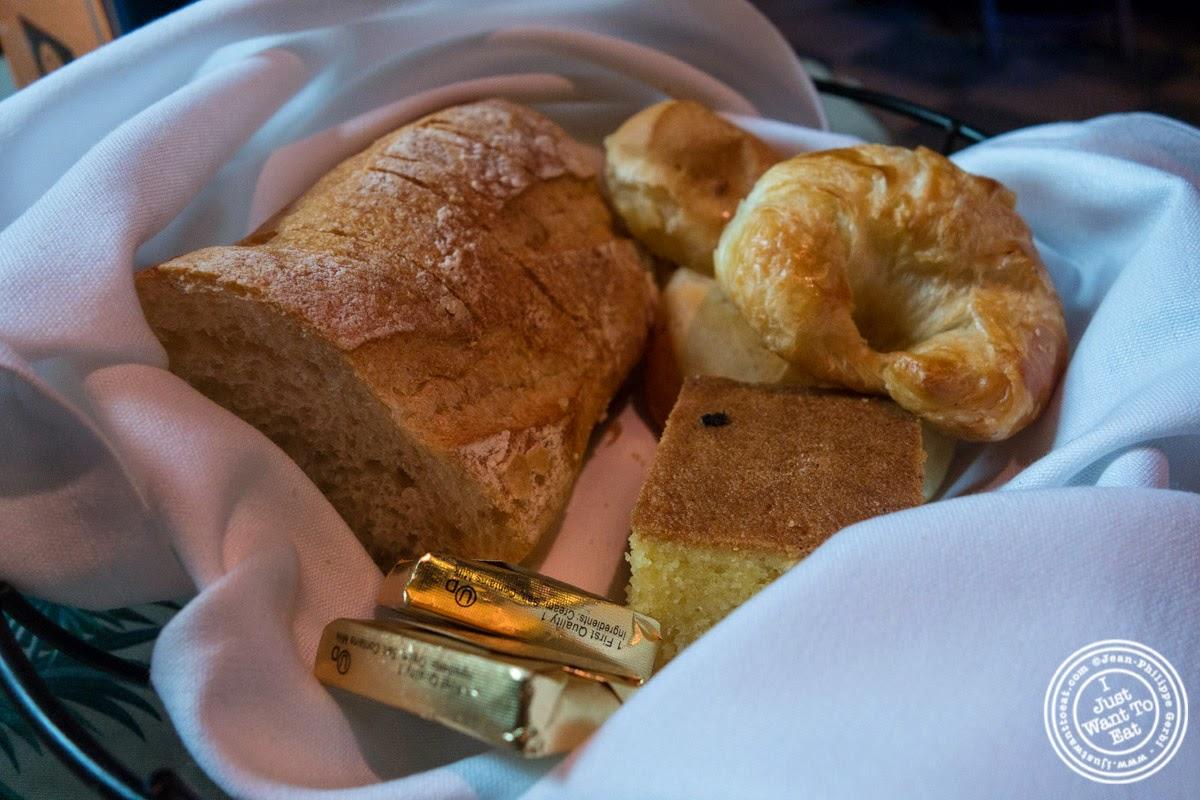 image of bread basket at Sounds Of Brazil SOB's in NY, New York