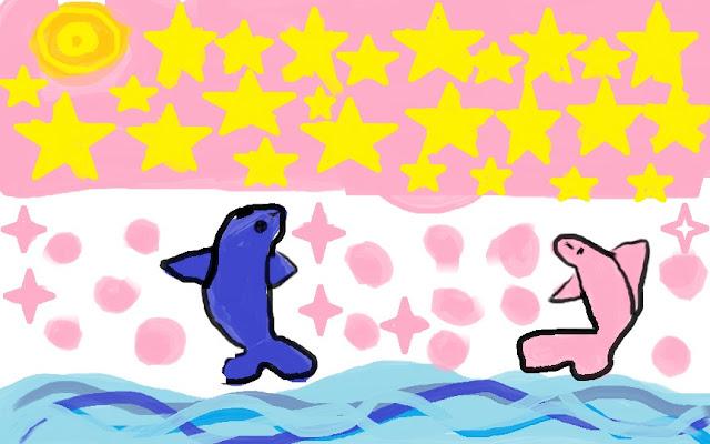 чудесная ночь в океане