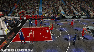 NBA 2K14 MGX Superhero Mod: Justice League vs. The Avengers