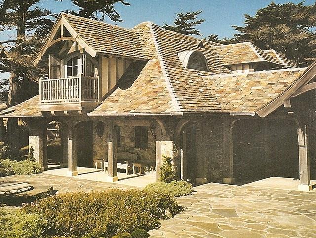 estilo rustico exteriores rusticos en la provenza