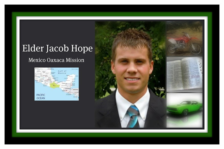 Elder Jacob Hope's Mission