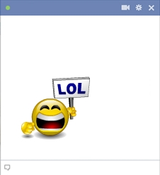 Facebook LOL Smiley