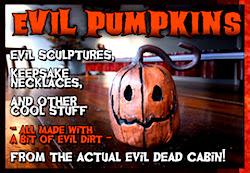 Evil Pumpkins!