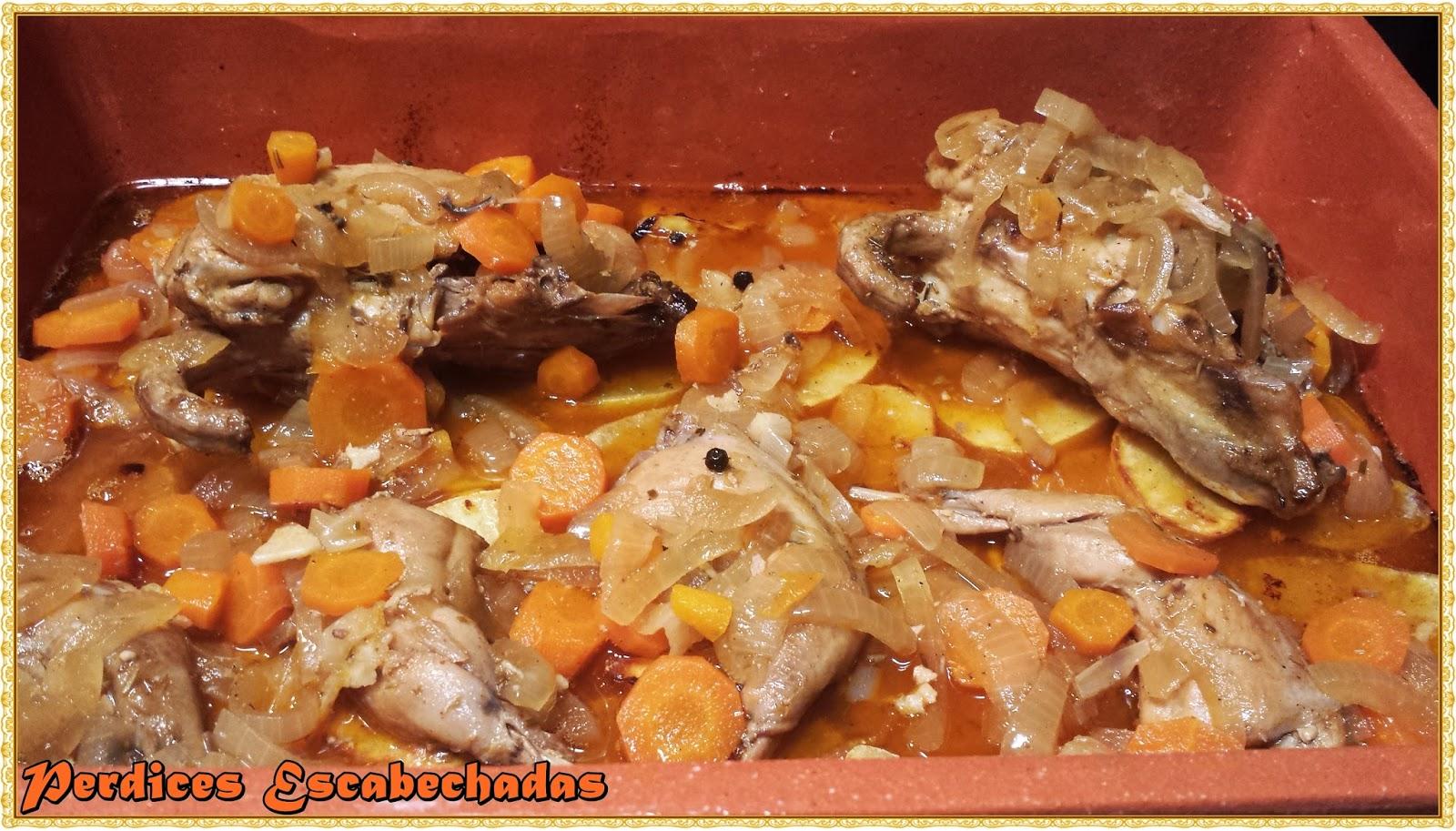 Fogones y melones perdiz escabechada - Como cocinar perdices ...