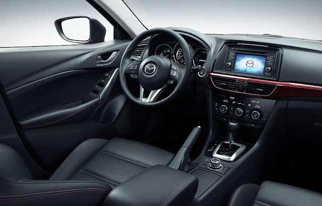 Inside photo of Mazda 6 crossover