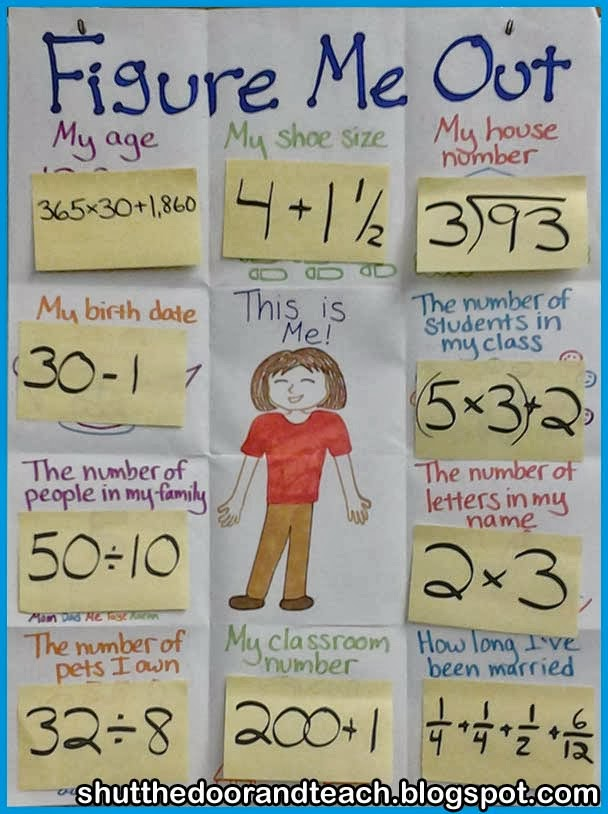 elementary math projects