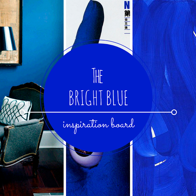 BRIGHT BLUE • WEEKLY COLOR INSPIRATION • THE ROUND BUTTON BLOG