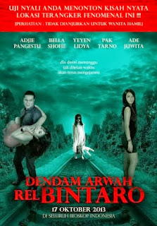 Film Terbaru Dendam Arwah Rel Bintaro