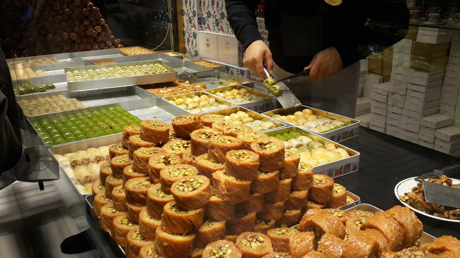 Sweets at Hafiz Mustafa