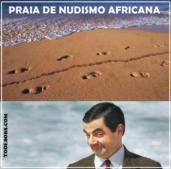 1 Praia de Nudismo Africana