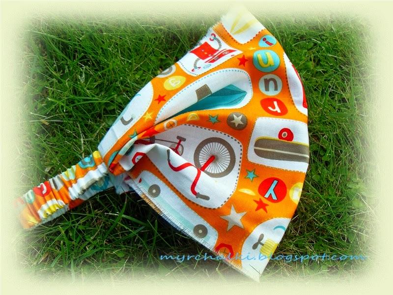 бандана для малыша шьем