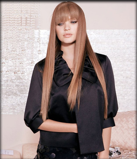 Candice Swanepoel Brown Hair