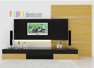backdrop tv minimalis