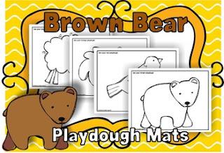 https://www.teacherspayteachers.com/Product/Brown-Bear-Playdough-Mats-1089056
