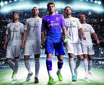 FASHION: REAL MADRID 2013-2014 HOME KIT
