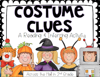 http://www.teacherspayteachers.com/Product/Costume-Clues-a-Halloween-Themed-Inferring-and-Reading-Activity-913948