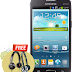 Get Free JBL / Sennheiser Stereo Headset Worth Rs 1990 !! Samsung Mobile India ( Offer Only Galaxy Grand Quattro User)
