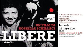 "23 Aprile 2018 <br> ""LIBERE"" @ Cinema Multiplex"