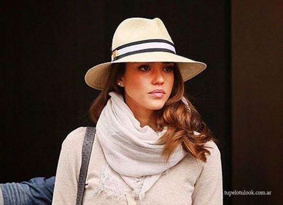 peinados 2014 sombreros_