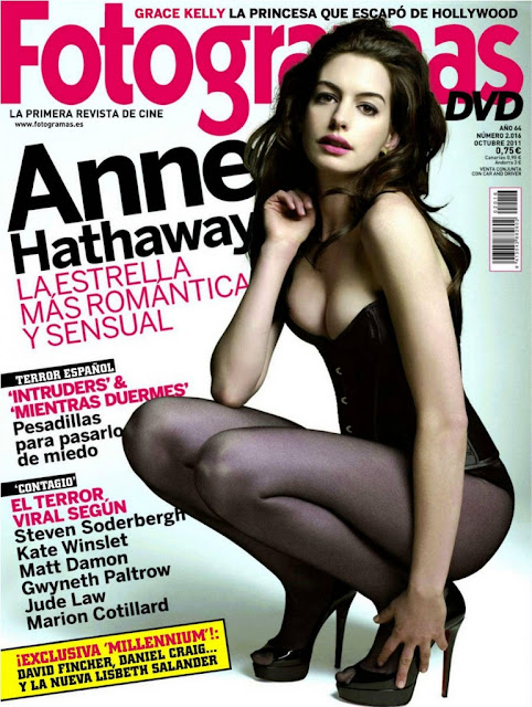 Anne Hathaway-Fotogramas magazine Spain October 2011