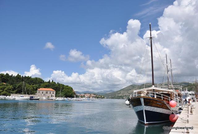 Lapad Bay, Dubrovnik, Croatia