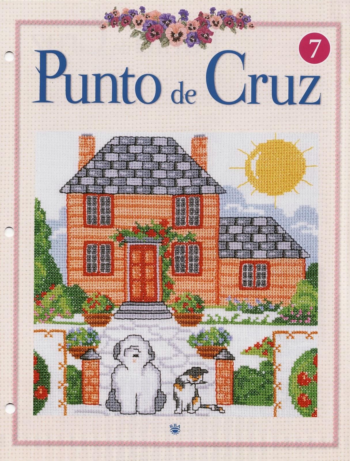 Revista punto de cruz gratis revistas de manualidades gratis - Labores en punto de cruz ...