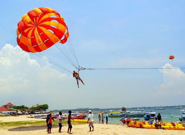 salah satu jenis water sport di tanjung benoa Bali