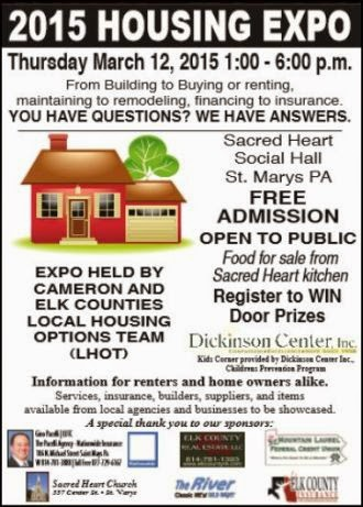 3-12 -2015 Housing Expo, St. Marys, PA