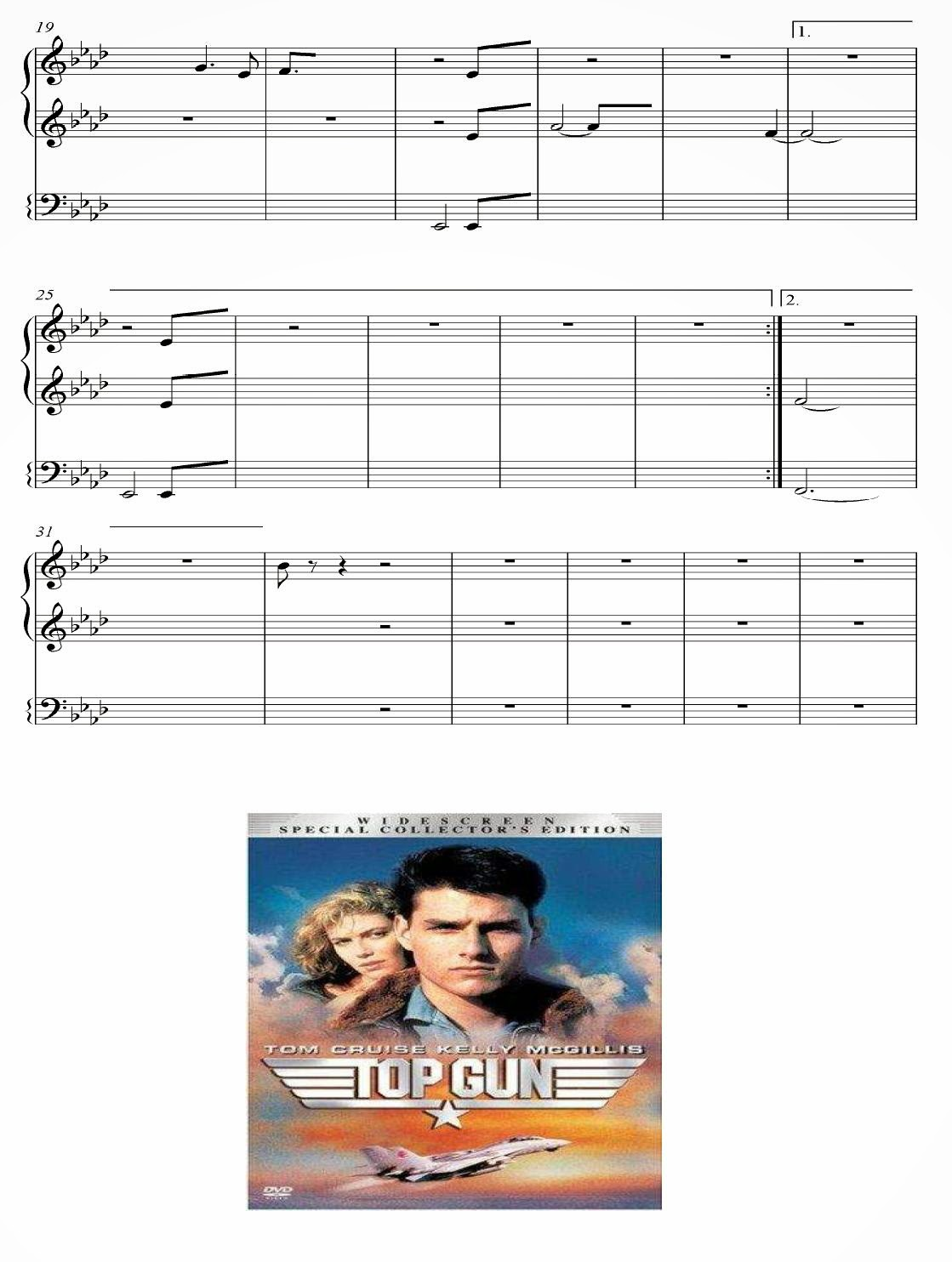 video musical de top gun:
