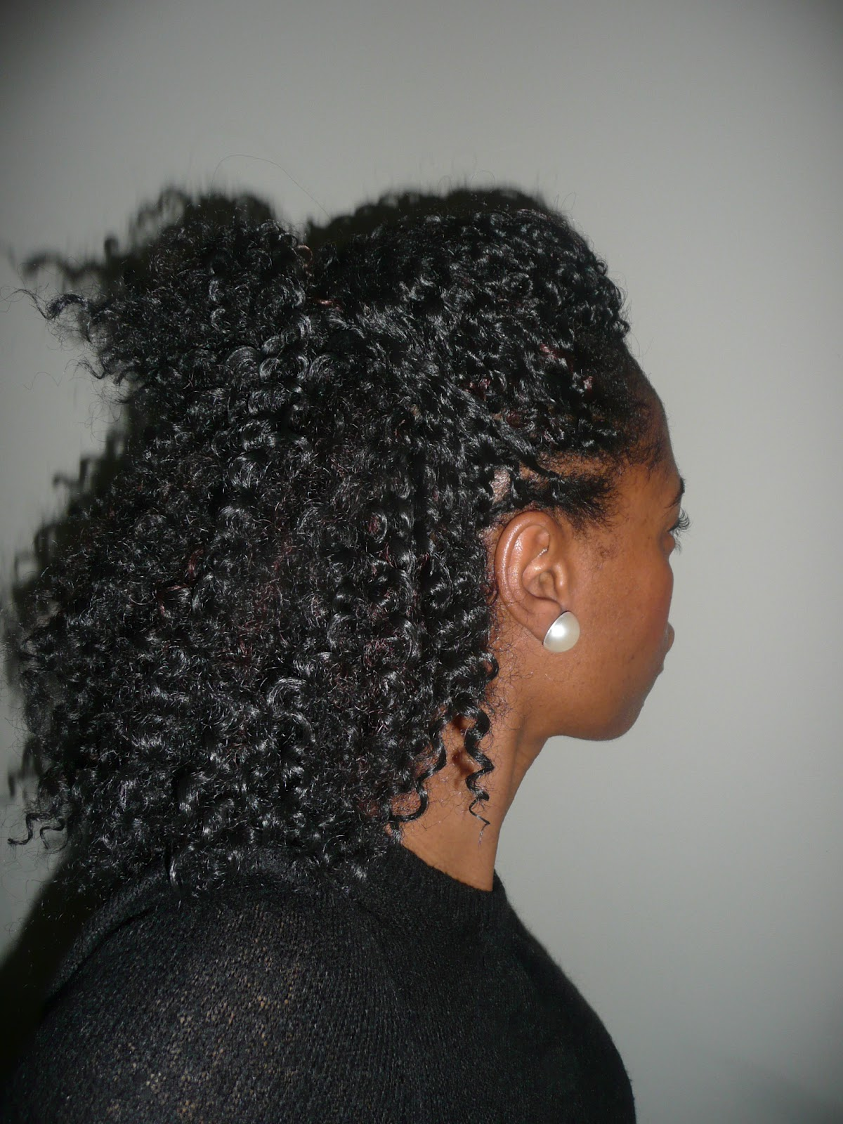 ... am wearing today these crochet latch hook braids are very versatile