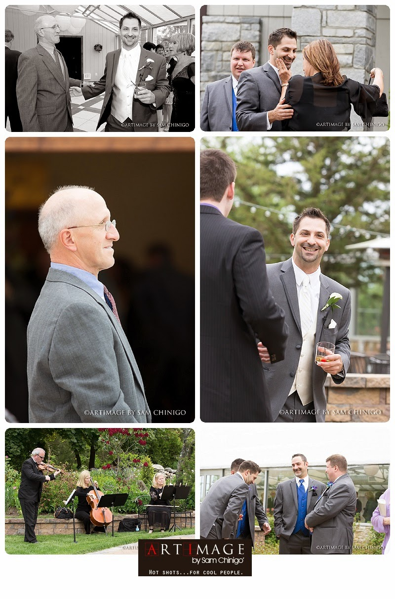 Farmington Gardens wedding candids