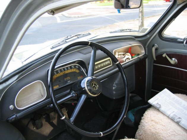 Conta giros til objeto de desejo autoentusiastas for Renault 8 interieur