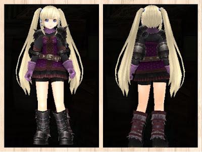 スケイルアーマー紫1+桃2